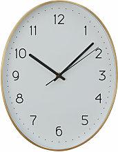 Wall Clock Gold / Black Finish Frame Clocks For