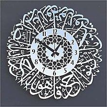 Wall clock Gold Metal Muslim Wall Clock Decoration