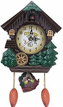 Wall Clock House Shape 8 Inches WallVintage