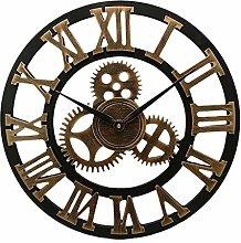 Wall Clock Industrial Gear Wall Clock Decorative