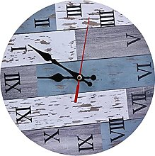 Wall Clock, Industrial Style Silent Wall Clock for