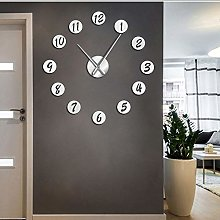 Wall clock Large DIY Wall Clock Modern 3D Silent
