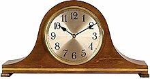 Wall Clock, Mantel Clocks Wood Mantle Clock with