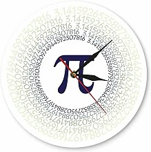 wall clock Mathematical Constant Greek Letter 3.14
