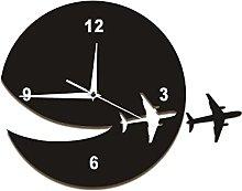 Wall Clock My Plane Flew Away Wall Art Home Decor
