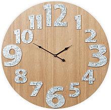 Wall Clock, No Ticking Noise, Modern, Analogue,