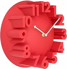 Wall Clock Non Ticking Battery Operated Creative