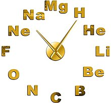 Wall Clock Periodic Table Of Elements Diy Giant