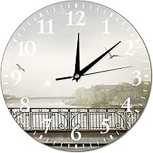 Wall Clock Photo Picture With A View Of St.