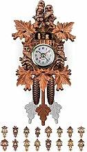 Wall clock Quartz Cuckoo Clock Black Forest House,