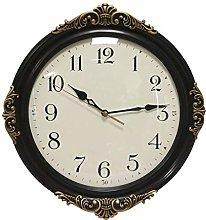 Wall Clock Retro Non Ticking, Silent Quartz