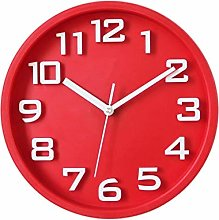 Wall Clock Round Mute Decorative Wall Clock For