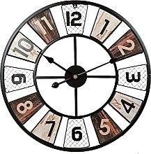 Wall Clock Rustic Wall Clock for Living
