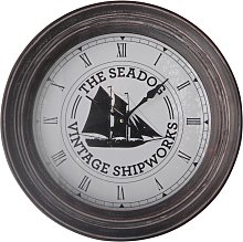 Wall Clock - Sailing Boat