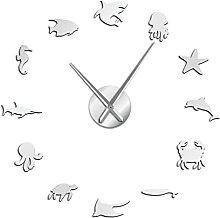 Wall Clock Sea Creature Sealife Creative Self
