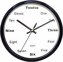 Wall Clock Silent Clock Chihen210830(Color:A)