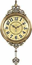 Wall Clock Silent Clock European Digital Pendulum