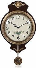 Wall Clock Silent Clock European Style Pure Copper