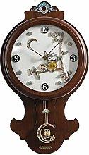 Wall Clock Silent Clock Wooden Wall Clock Creative