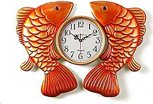Wall Clock Silent Clocks Chinese Style Pisces