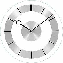 Wall Clock Silent Clocks Silent Glass Wall Clock
