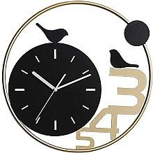 Wall Clock Silent Home Clock Bird Wall Clock