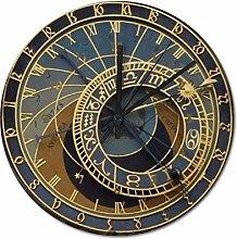 Wall Clock Silent Non Ticking - 38 x 38 CM,