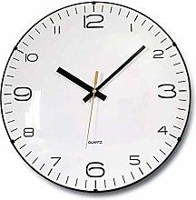 Wall Clock Silent, Non Ticking Digital Quiet Sweep