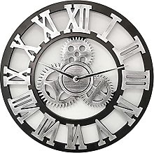 Wall Clock Silent Retro,Outside Wall Clock for