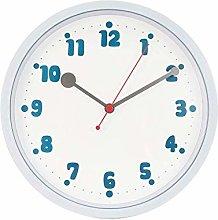 Wall Clock Simple Arabic Numeral Design Rustic