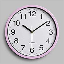 Wall Clock Simple Round 10/12 inch Multi-Clock