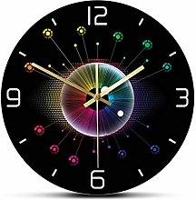 Wall Clock Spectrum Eye Opticianry Iris Wall Clock