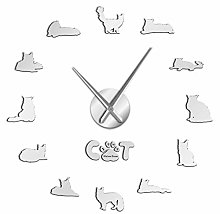 Wall clock The Gentle Giant Maine Coon Wall Clock