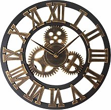 Wall Clock Vintage, Large Wall Clock With Roman