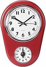 Wall Clock Vintage Simple Wall Watch Big Elegant