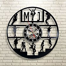 wall clock Vinyl Wall Clock with 7 Changing Colors