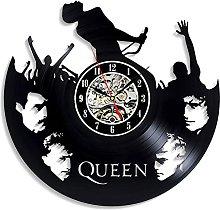 wall clock Vinyl Wall Clock with LED
