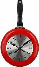 wall clock wall clock metal frying pan design 8