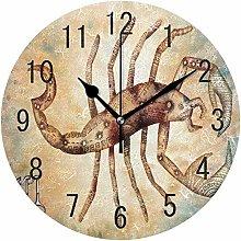 Wall Clock Wall Clock Scorpio Constellation Space