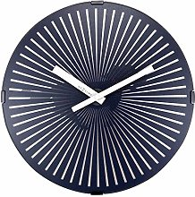 Wall Clock with moving Running Dog - 30.5cm -