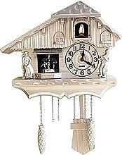 Wall Clock Wood Cuckoo Bird Clocks Home Decor