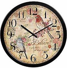 Wall Clock Wooden Kitchen Wall Clock