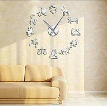 Wall clock Zodiac Signs Wall Art Stickers