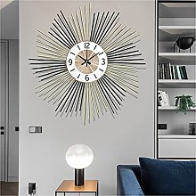 Wall Clocks for Living Room Decor Large 3D Metal