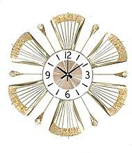 Wall Clocks for Living Room Large, 50cm Metal