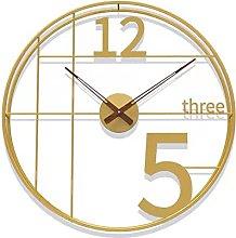 Wall Clocks for Living Room Modern Silent, 50cm