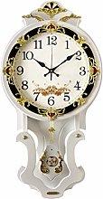 Wall Clocks Wall Clock European Retro Clock Swing