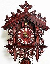 Wall Cuckoo Clocks Black Forest Wooden Cuckoo