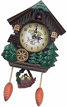 Wall Cuckoo Clocks Green Wooden Cuckoo Clock
