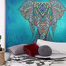 Wall Decoration Bohemian Mandala Elephant Tapestry